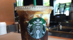 Alderina Iced Coffee with Liquid Whipped Cream Starbucks Alderina
