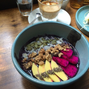 Smoothie Bowl at Fillmore Coffee Alderina