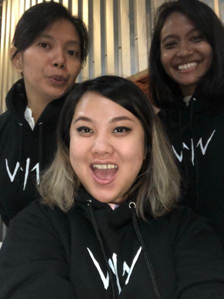 Wiro Sableng Publicity Team Alderina
